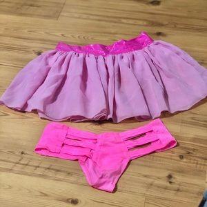 Iheartraves bottoms &DiscoCheekz  skirt